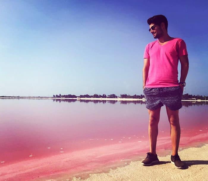 Mexico's pink lagoon 5