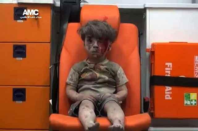 Omran, l'enfant syrien