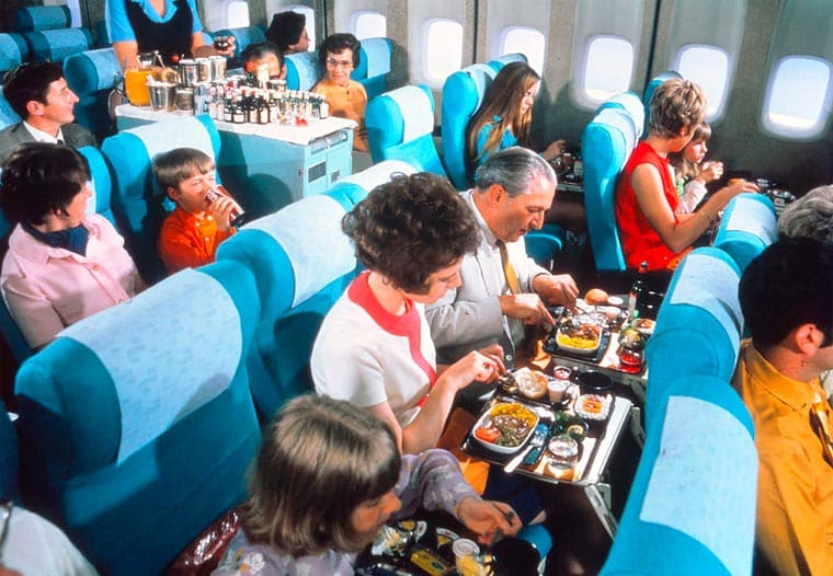 repas en avion 13