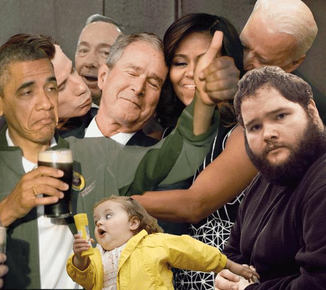 michelle-obama-et-george-w-bush-1