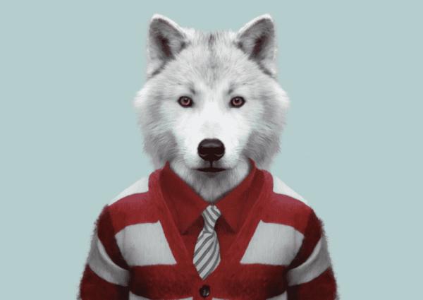 """Ces portraits d'animaux """"habillés"""" sont bluffants"""