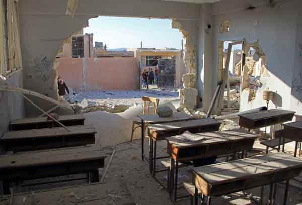 Syrie: la Russie n'a «rien à voir» avec les frappes contre une école