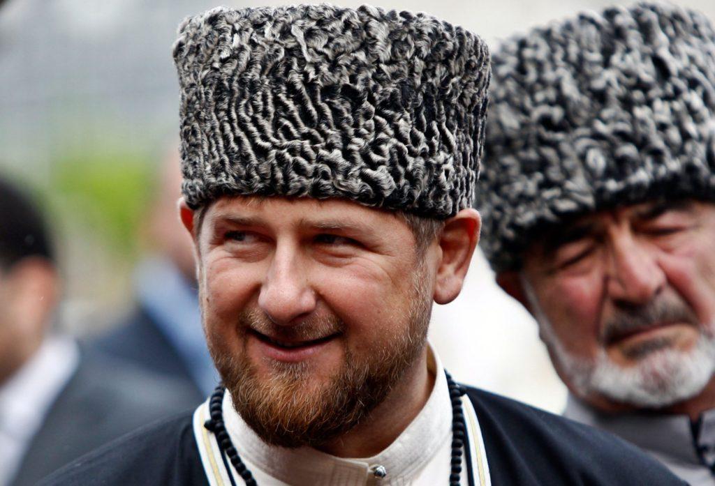 Le président de Tchétchénie Ramzan Kadyrov