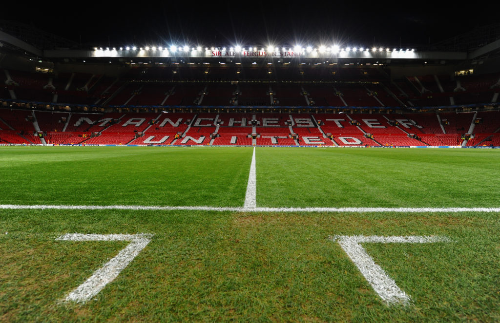 Le stade Old Trafford