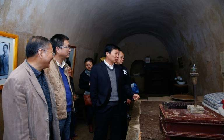 La grotte de Xi Jinping. Photo AFP