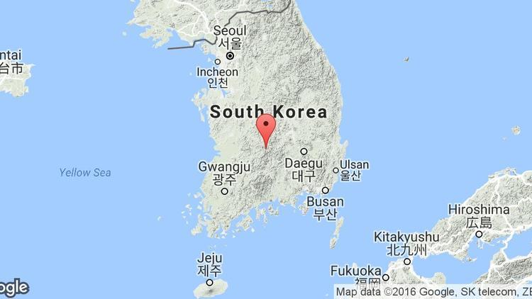 google-map-coree-sud