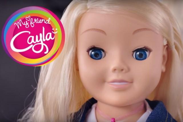 La poupée «Mon amie Cayla»