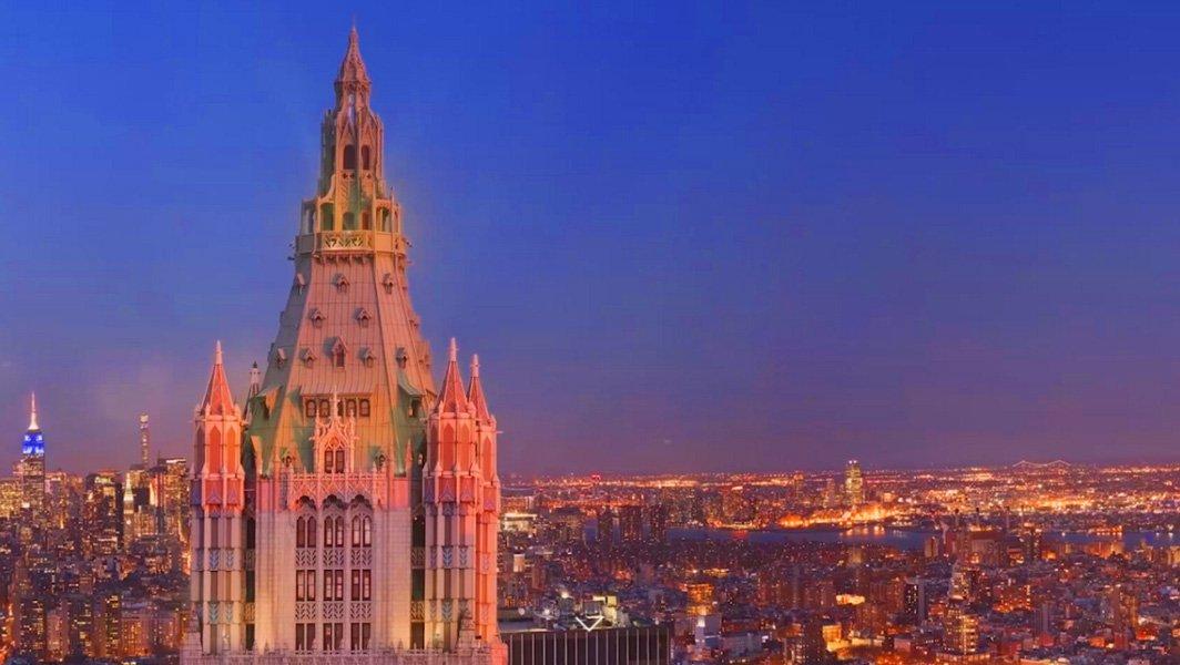 110 m pour un appartement au sommet du woolworth building - Achat appartement new york ...