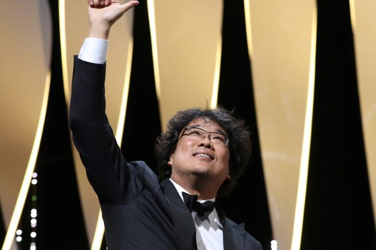 Le réalisateur sud-coréen Bong Joon-Ho a reçu le 25 mai 2019 la Palme d'or du 72e Festival de Cannes pour son film
