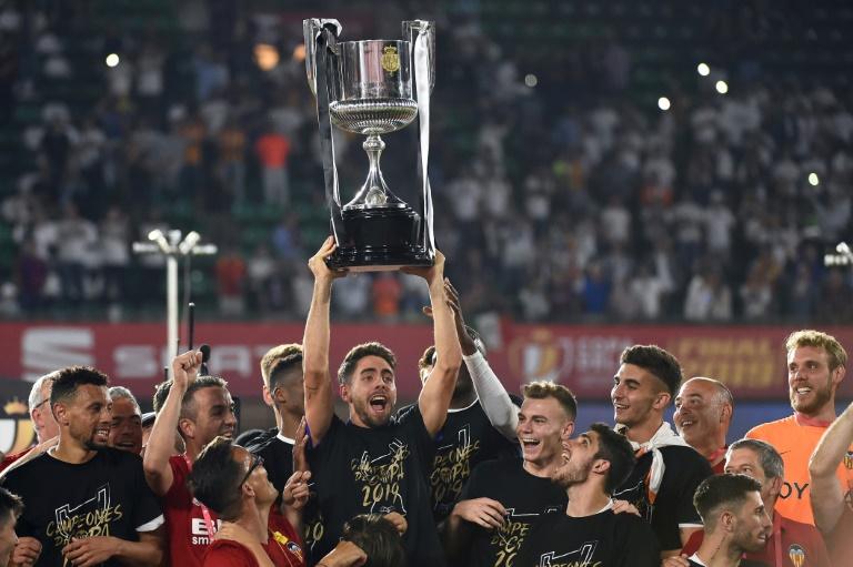 Valence remporte la Coupe du Roi en battant le FC Barcelone 2-1 le 25 mai 2019