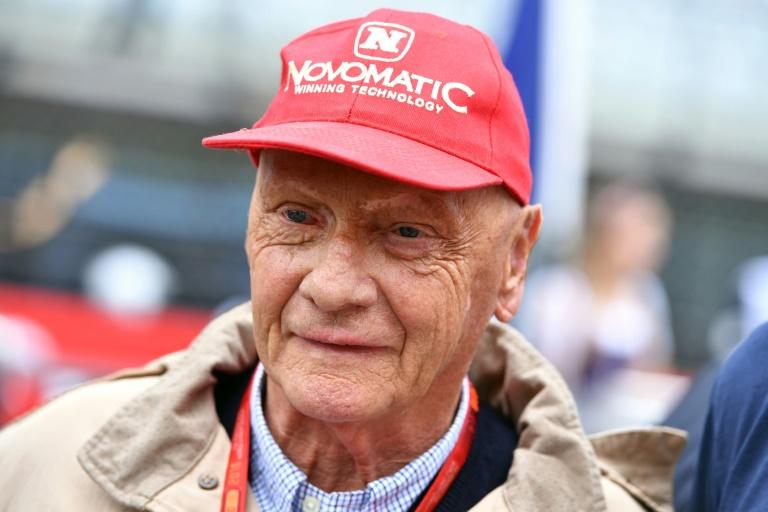 Le triple champion du monde de Formule 1 Niki Lauda assiste au Grand prix d'Autriche sur le circuit de Spielberg, le 3 juillet 2016