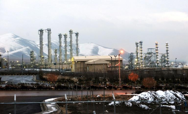 La centrale iranienne d'Arak, le 15 janvier 2011