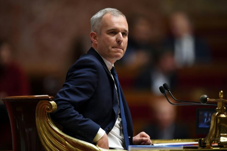 François de Rugy à la présidence de l'Assemblée nationale le 5 décembre 2017