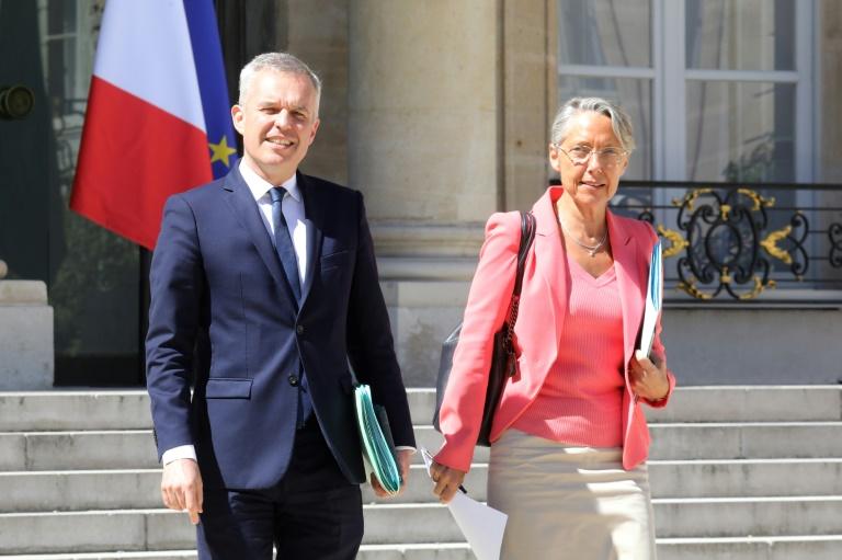 François de Rugy et Elisabeth Borne, le 9 juillet 2019 à Paris
