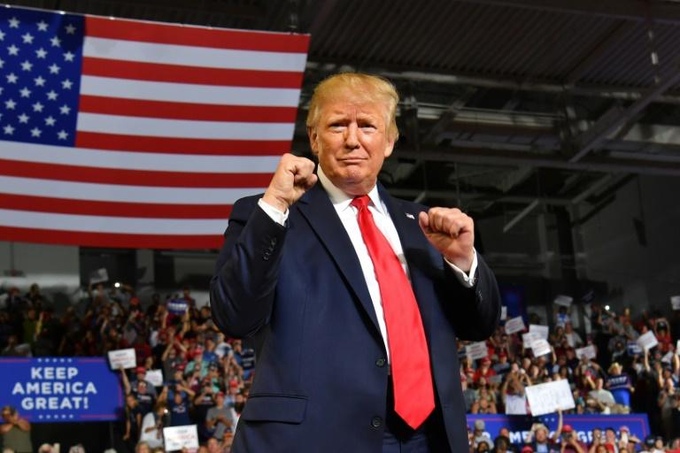 """""""Renvoyez-la!"""": le ton de la campagne Trump est donné"""