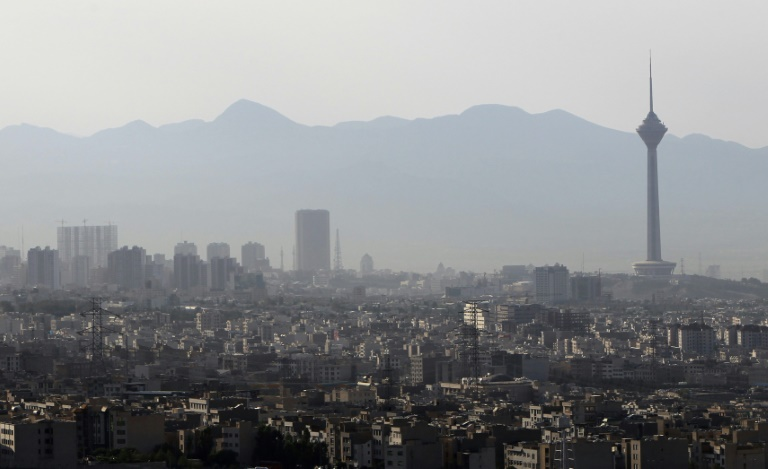 Vue générale de Téhéran