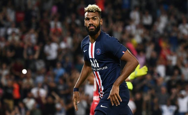 L'attaquant du PSG Eric-Maxim Choupo-Moting auteur d'un doublé lors de la victoire à domicile 4-0 sur Toulouse en 3e journée de L1 le 25 août 2019
