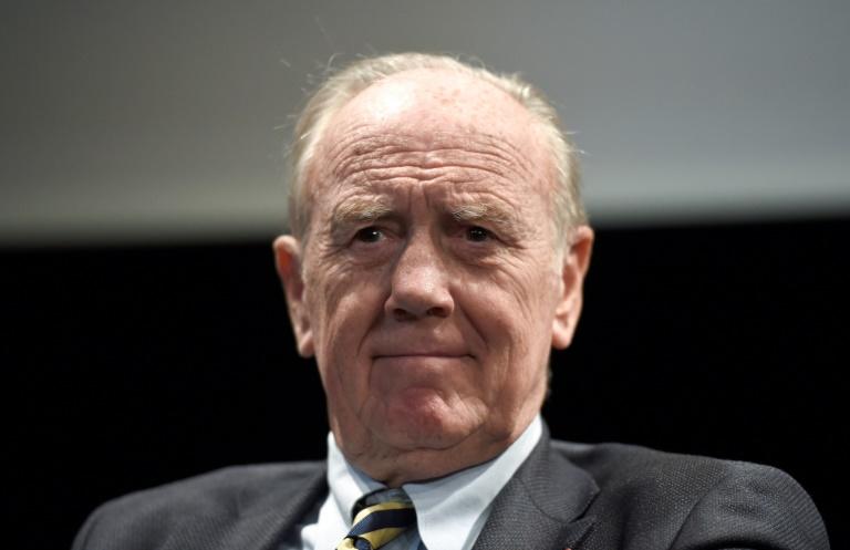 Le Pr Henri Joyeux, vice-président du Fonds Josefa, à Paris le 7 novembre 2017