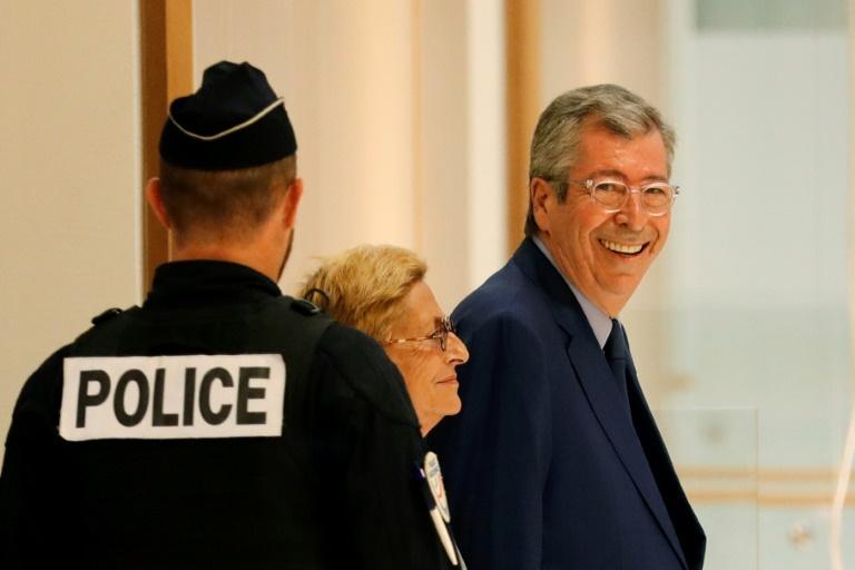 Patrick et Isabelle Balkany arrivant au tribunal, à Paris, le 13 septembre 2019