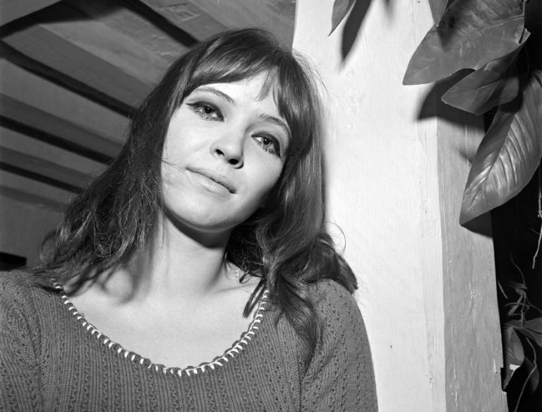 L'actrice Anna Karina en avril 1966