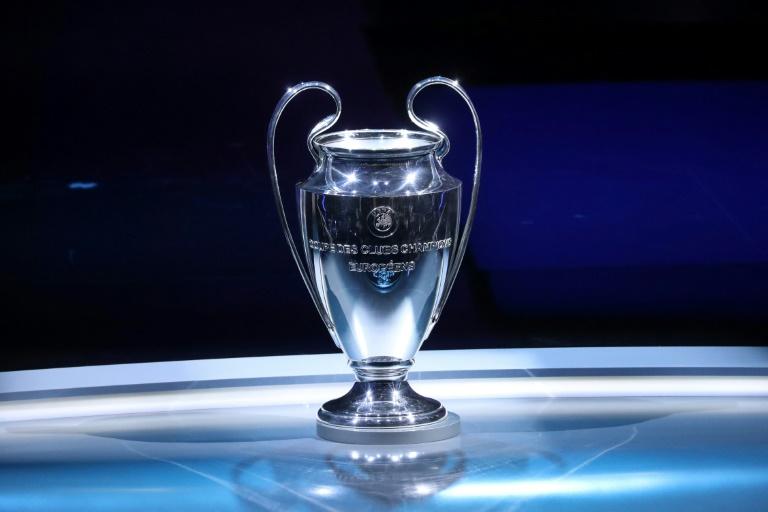 Le trophée de la Ligue des champions exposé lors de la cérémonie du tirage au sort des groupes à Monaco, le 29 août 2019