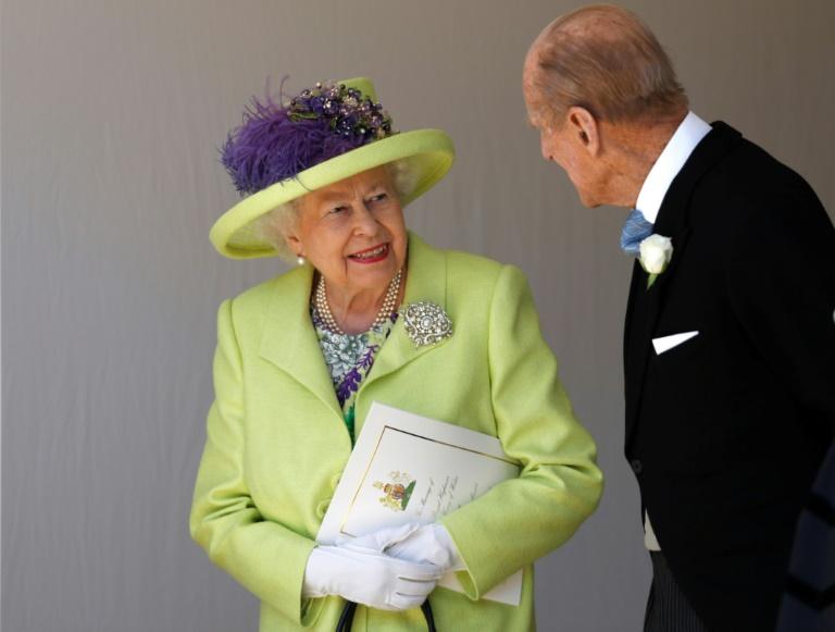 La reine Elizabeth II et le prince Philip, le 19 mai 2018 à Windsor