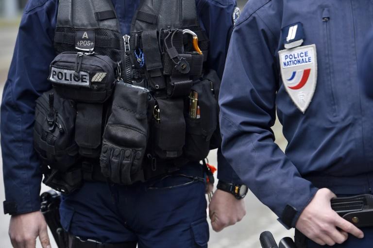 Des policiers à Nantes en mars 2017 (ME3KP)