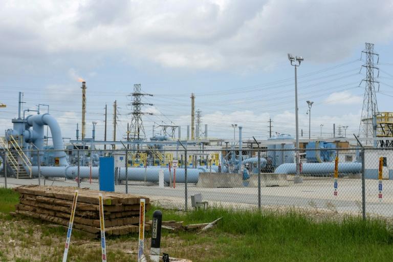 Un site de l'opérateur d'oléoducs américain Colonial Pipeline à Pasadena, au Texas, le 10 mai 2021