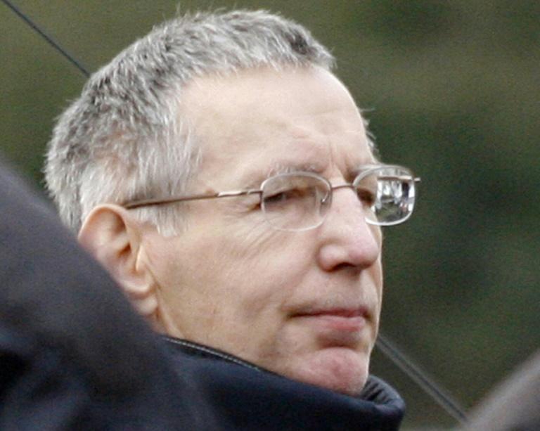 Michel Fourniret à Rezé en Loire-Atlantique lors de la reconstitution du viol et du meurtre de Natacha Danais, 13 ans, le 15 mars 2006