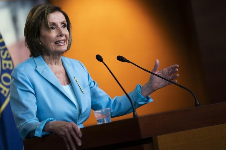 La présidente démocrate de la Chambre des représentants Nancy Pelosi, à Washington le 17 juin 2021