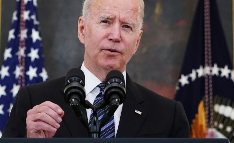 Le président américain Joe Biden s'exprime depuis la Maison Blanche le 23 juin 2021