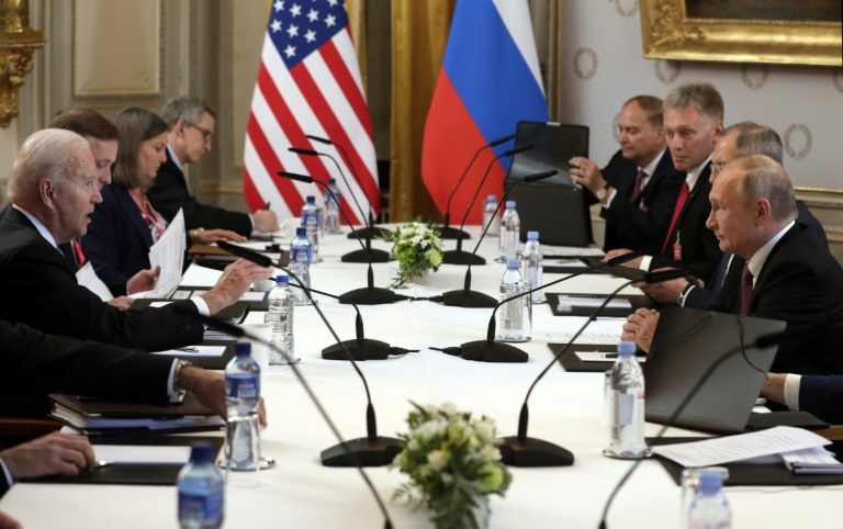 Rencontre Biden-Poutine le 16 juin 2021 à Genève