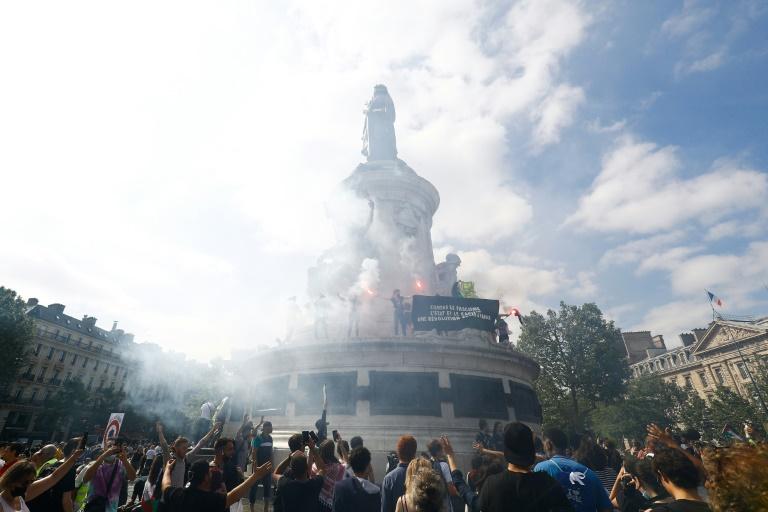 Manifestation à Paris pour dénoncer