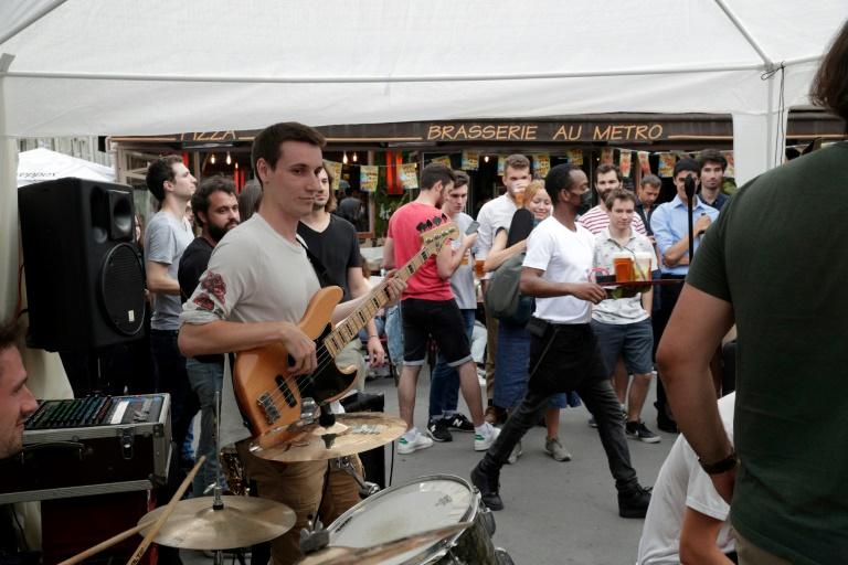 la Fête de la musique à Paris, le 21 juin 2021
