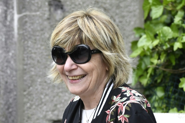 La patronne de l'agence BestImage, Mimi Marchand, en avril 2017 au Touquet