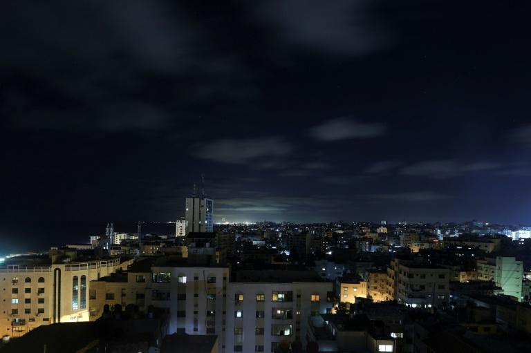 Vue de la ville de Gaza, le 18 juin 2021