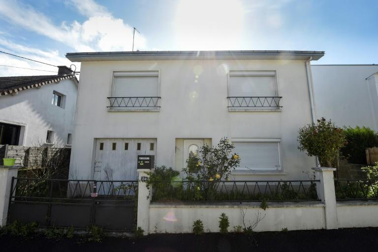 La maison des Troadec à Orvault en avril 2019. La police y avait découvert des traces de sang