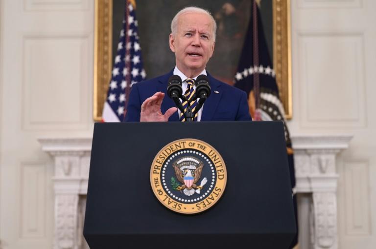 Le président américain Joe Biden à la Maison Blanche, le 18 juin 2021