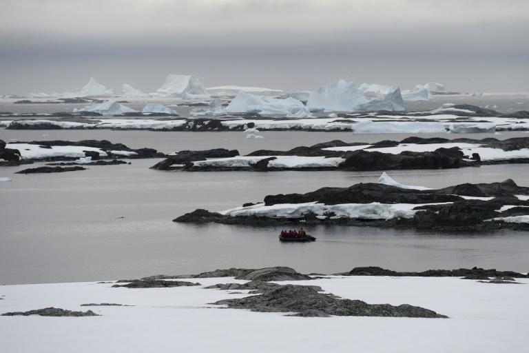 Près de la Winter Island, dans l'Antarctique, le 2 mars 2016