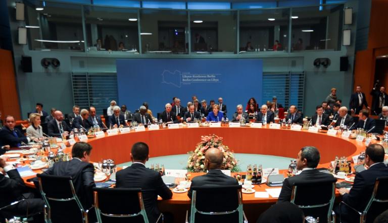 Sommet international sur la Libye le 19 janvier 2020 à Berlin