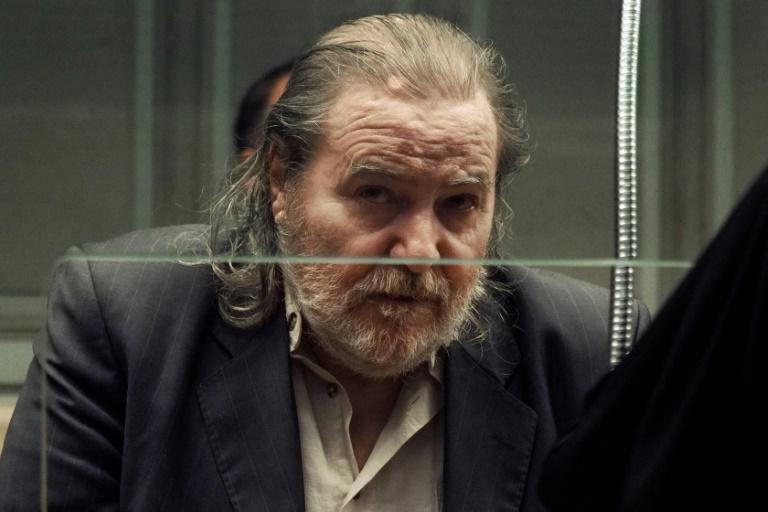 Jacques Rançon sur le banc des accusés du tribunal de Perpignan, le 26 mars 2018