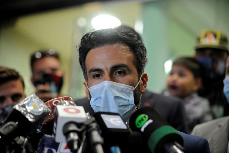 Le médecin personnel de Maradona, Leopoldo Luque, le 10 novembre 2020 à Olivos, dans la province de Buenos Aires