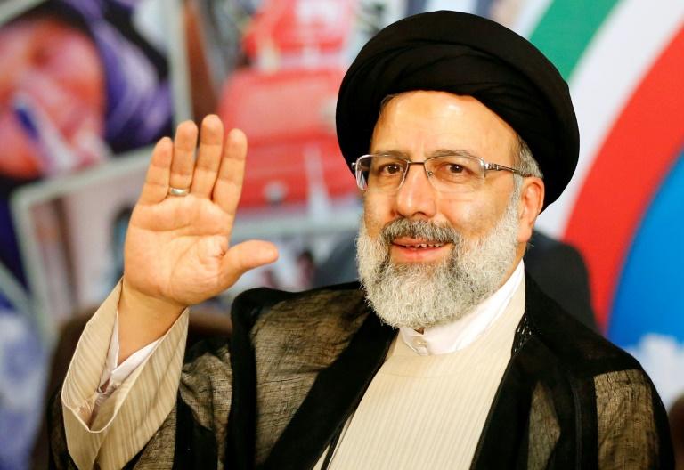Photo d'archives de l'uaconservateur iranien Ebrahim Raïssi, le 14 avril 2017
