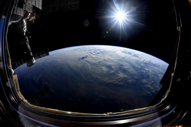 Vue de la Terre depuis l'ISS, en octobre 2019