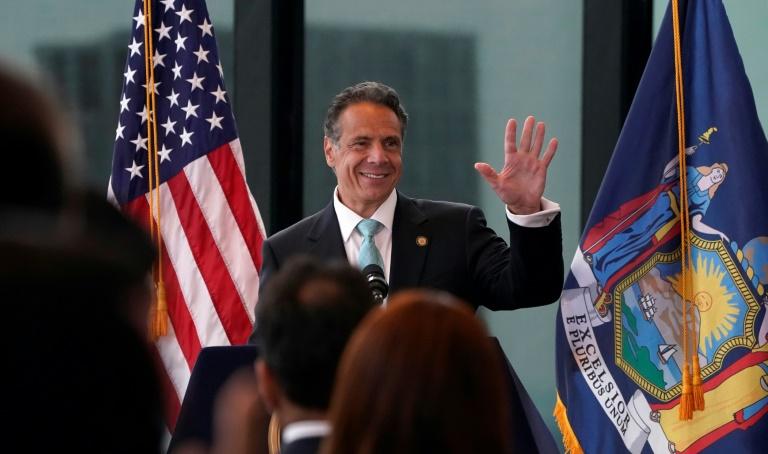 Le gouverneur de New York Andrew Cuomo, le 15 juin 2021 à New York