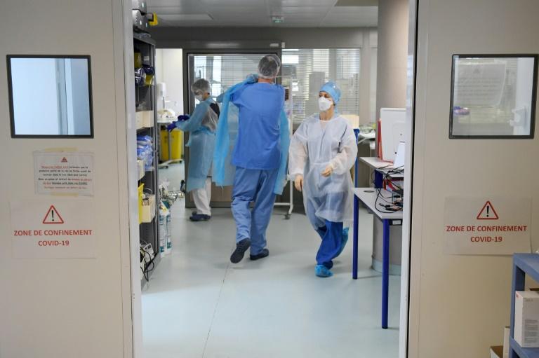 A l'hôpital Nord de Marseille le 2 février 2021