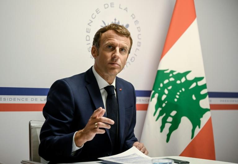 Emmanuel Macron a ouvert le 4 août 2021 une visioconférence internationale d'aide au Liban depuis le fort de Brégançon
