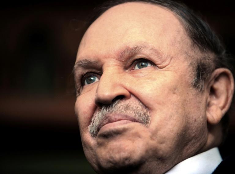 L'ex-président algérien Abdelaziz Bouteflika, le 8 février 2009 à Alger