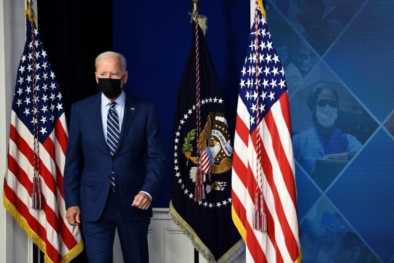 Joe Biden à la Maison Blanche le 27 septembre 2021