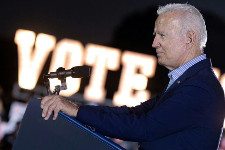 Joe Biden à Long Beach en Californie, le 13 septembre 2021